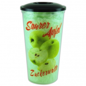 Zuckerwatte Saurer Apfel