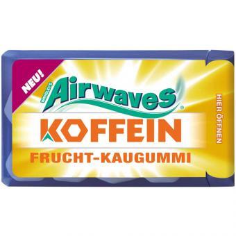 Airwaves Koffein Frucht-Kaugummi 18,8g