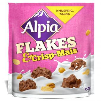 Alpia Flakes & Crisp-Mais 150g