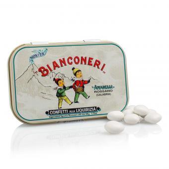 Amarelli Bianconeri Confetti alla Liquirizia 50g