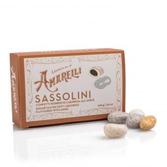 Amarelli Sassolini Box 100g