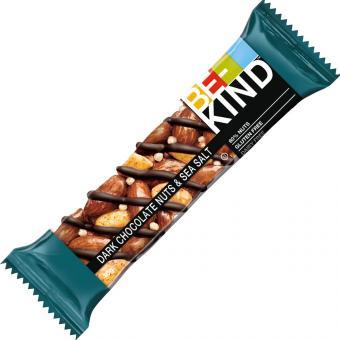 BE-KIND Dark Chocolate Nuts & Sea Salt 40g