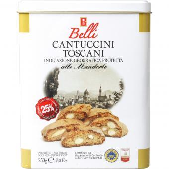 Belli Cantuccini Toscani alle Mandorle 250g