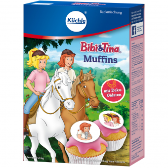 Küchle Backmischung Bibi & Tina Muffins 340g