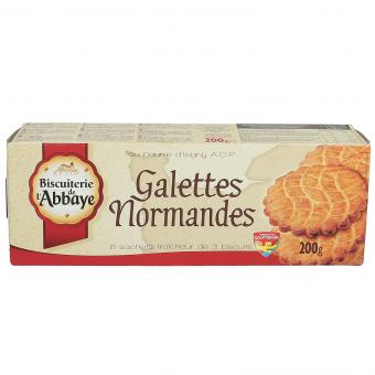 Biscuiterie de l'Abbaye Galettes Normandes 200g