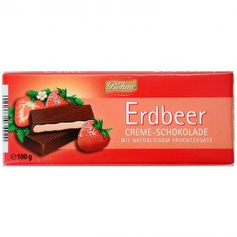 Böhme Erdbeer Creme-Schokolade 100g