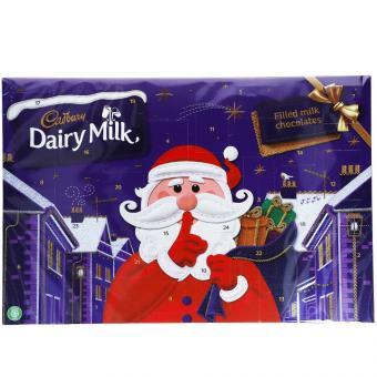 Cadbury Dairy Milk Secret Santa Adventskalender