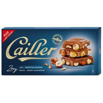 Cailler Milch - Ganze Haselnüsse 200g