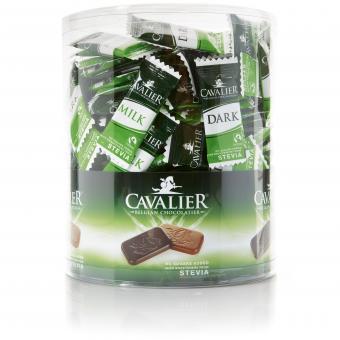 Cavalier Stevia Neapolitains Milk und Dark 1kg