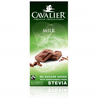 Cavalier Stevia Milk 85g
