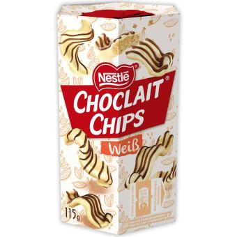Choclait Chips Weiß 115g