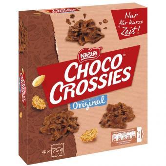 Choco Crossies Original 4×75g