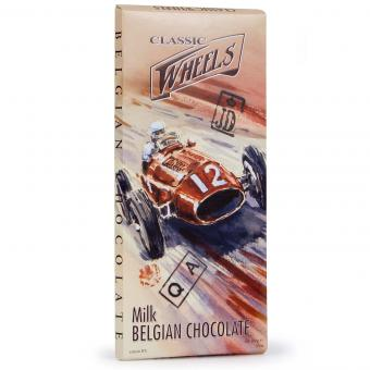 Classic Wheels Belgian Chocolate Milk 100g