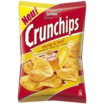 Crunchips Honig & Senf 175g