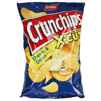 Crunchips x-cut Cheese & Onion 150g