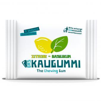 DasKaugummi Zitrone-Basilikum 11er
