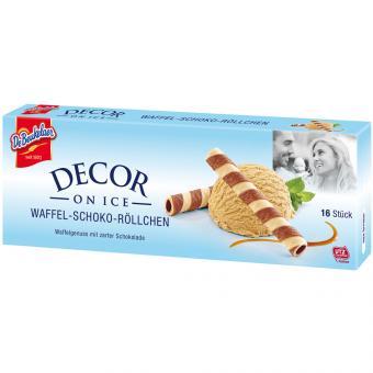 DeBeukelaer Decor on Ice Waffel-Schoko-Röllchen 16er