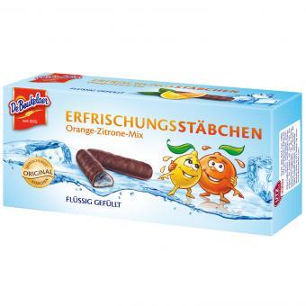 DeBeukelaer Erfrischungsstäbchen Orange-Zitrone-Mix 75g