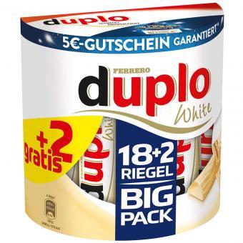 duplo white Big Pack 18er + 2 gratis