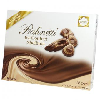 Eichetti Pralinetti Ice Confect Shellinis 83g
