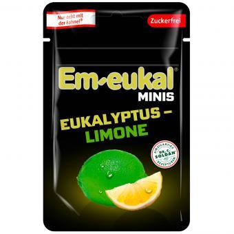 Em-eukal Minis Eukalyptus-Limone zuckerfrei