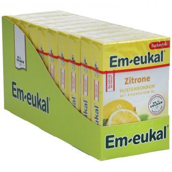 Em-eukal Zitrone zuckerfrei 10x50g