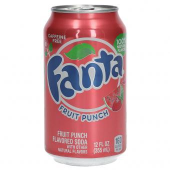 Fanta Fruit Punch USA 355ml
