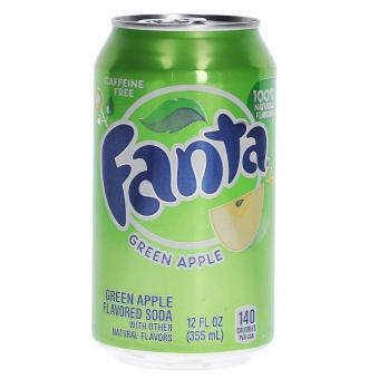 Fanta Green Apple USA 355ml