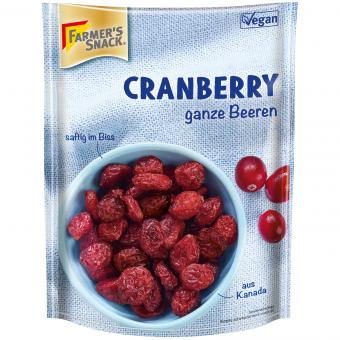 "Farmer's Snack ""Fruit Snack"" Cranberries"