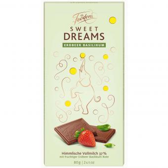 Feodora Sweet Dreams Erdbeer Basilikum 80g (MHD 15.10.2020)