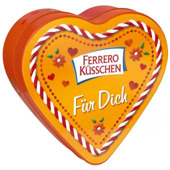 """Ferrero Küsschen Herzdose """"Für Dich"""" 16er"""