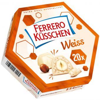 Ferrero Küsschen Weiß 20er