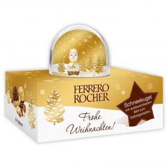 Ferrero Rocher Schneekugel + 6 Pralinen