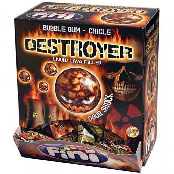 Fini Bubble Gum Chicle Destroyer Sour Shock 200er