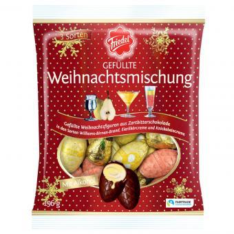 Friedel Gefüllte Weihnachts-Mischung mit Alkohol 196g