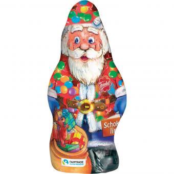 """Friedel Weihnachtsmann """"Der kleine Dicke"""" Schokolinsen 100g"""