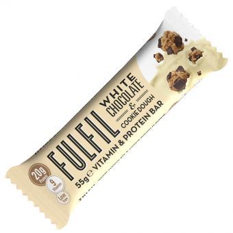 Fulfil White Chocolate & Cookie Dough Vitamin & Protein Bar