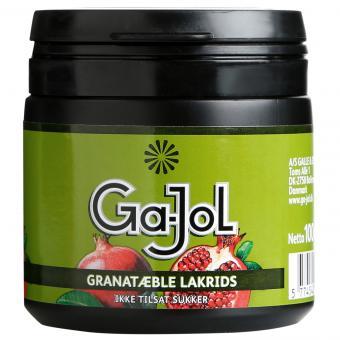 Ga-Jol Granatæble Lakrids 100g