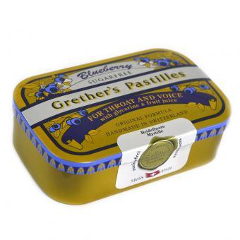 Grether's Pastilles Blueberry sugarfree 110g