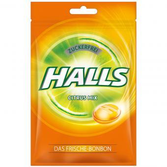 Halls Citrus Mix zuckerfrei 65g