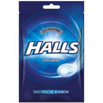 Halls Coolwave zuckerfrei 65g