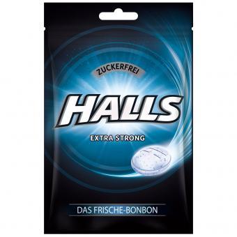 Halls Extra Strong zuckerfrei 65g