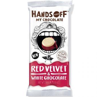 Hands Off My Chocolate Red Velvet & White Chocolate 100g