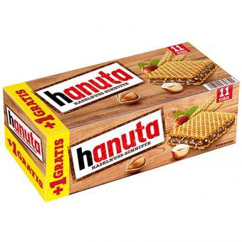 hanuta 10er + 1 gratis