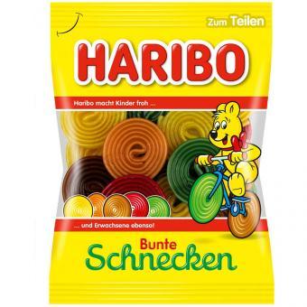 Haribo Bunte Schnecken 175g