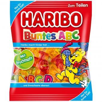 Haribo Buntes ABC 175g