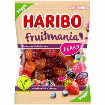Haribo fruitmania Berry Veggie 175g
