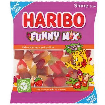 Haribo Funny Mix 190g