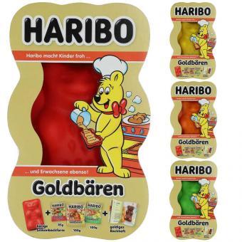 Haribo Goldbären Backform + Goldbären 285g