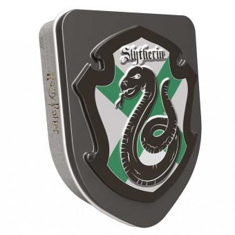 Harry Potter Hauswappen Dose Slytherin 28g